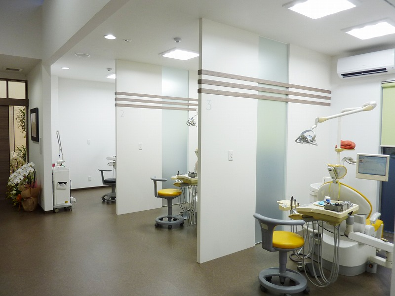 半個室の診療ルーム