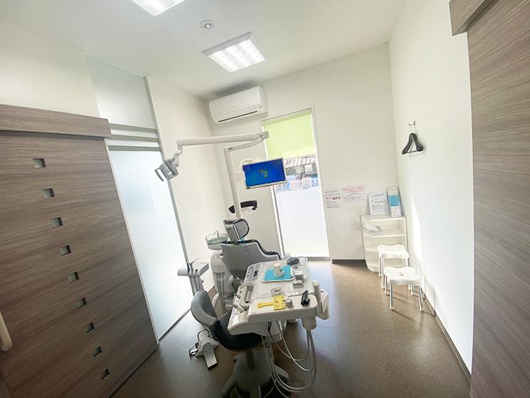 個室の診療ルーム
